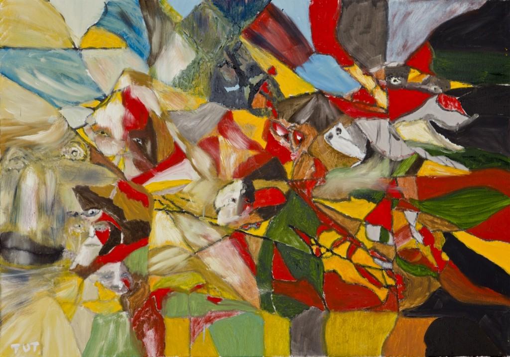 Wojciech-Tut-Chechliński-Armagedon-olej-na-płótnie-70-x-100-cm-2012-r