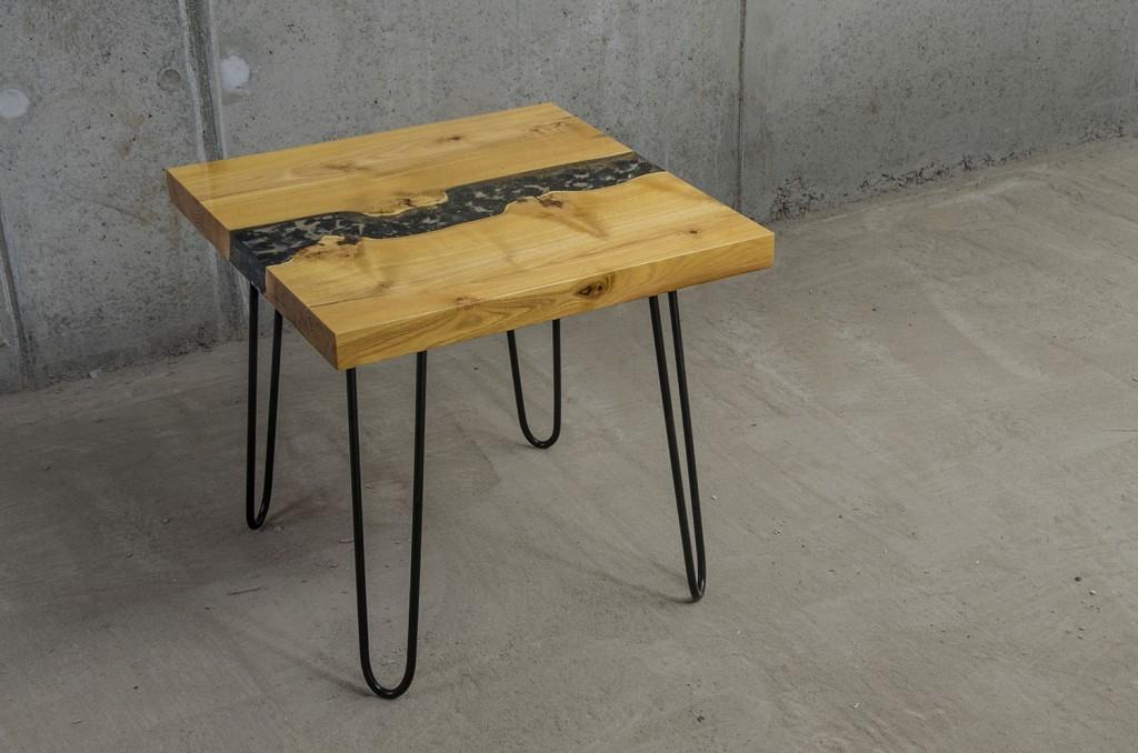 Stolik kawowy z +-ywic¦ů_Malita Just Wood
