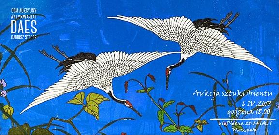 Aukcja Sztuki Orientu- zaproszenie