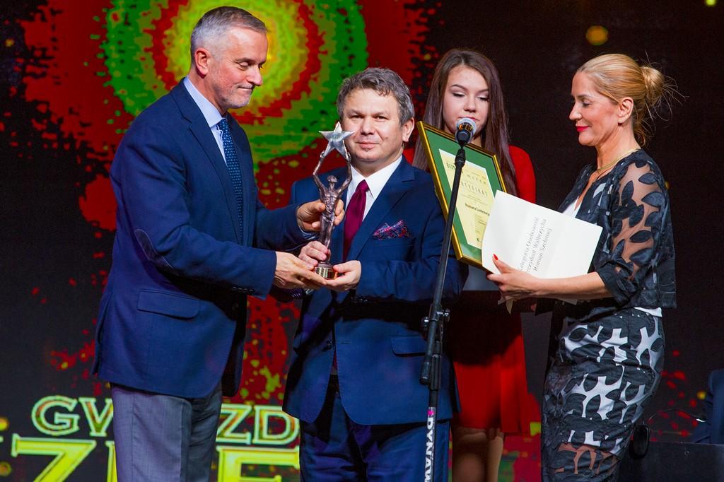 Gwiazdy Biznesu 2017 Roman Szełemej Laureat w kategori Osobowość