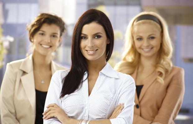 Portrait of confident businesswoman outdoors