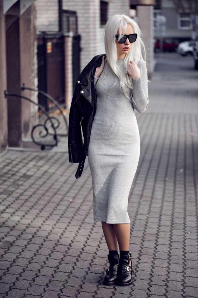 Fot 4 Sukienka dresowa na rockowo2