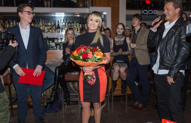 Kuba Adamiak - prowadzacy z Radia Wawa, Justyna Sawicka i Jaroslaw Jakimowicz, fot. Pawel Wodzynski